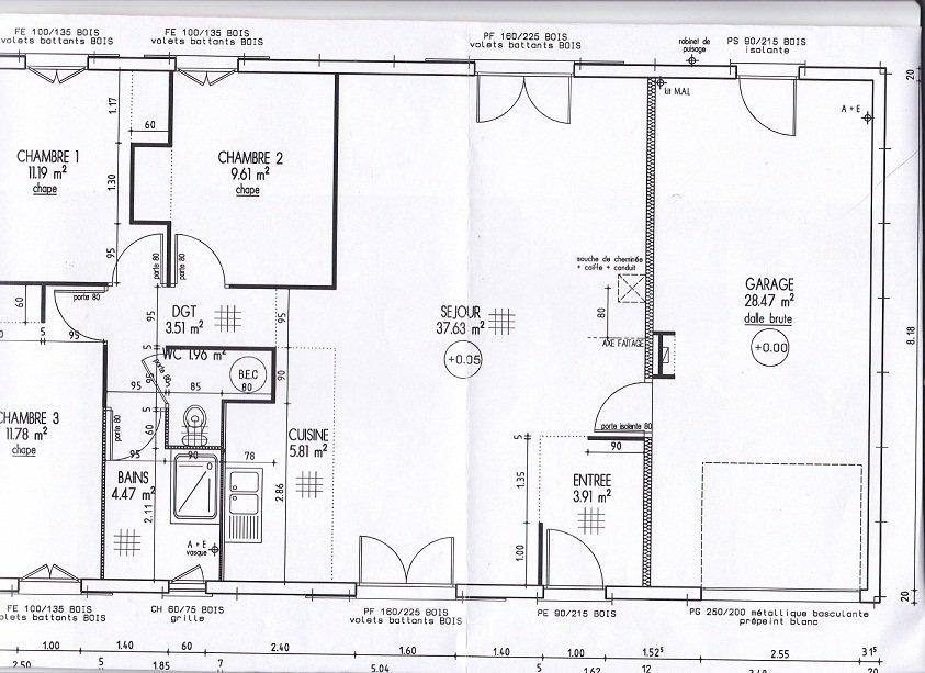 Les plans notre maison ph nix en vend e - Plan maison phenix ...
